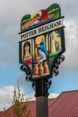 The Potter Heigham village sign