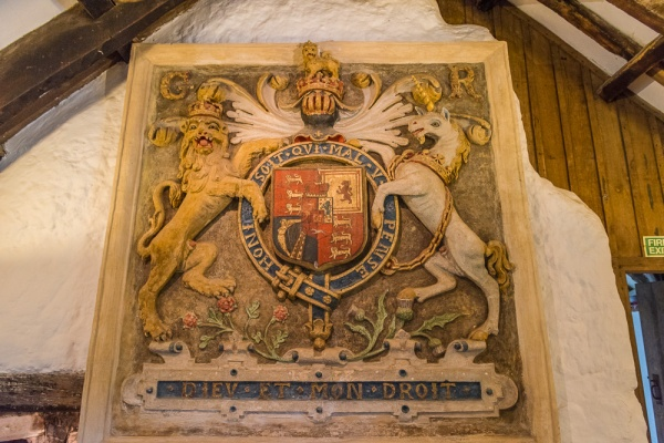 The 1638 Charles I coat of arms
