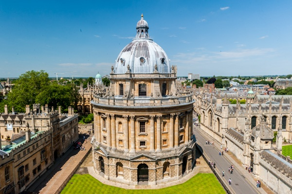 The Radcliffe Camera from St Mary's tower