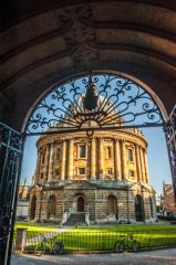 Radcliffe Camera, Looking into Radcliffe Square