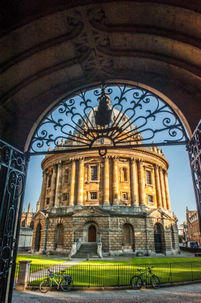 Radcliffe Camera photo, Looking into Radcliffe Square