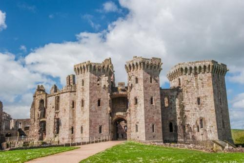 Raglan Castle History Photos Historic Wales Guide