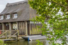 The floating Broads Wildlife Cetre