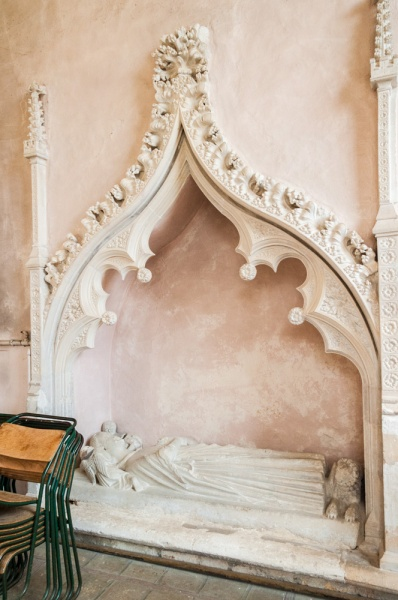 14th century tomb of a priest