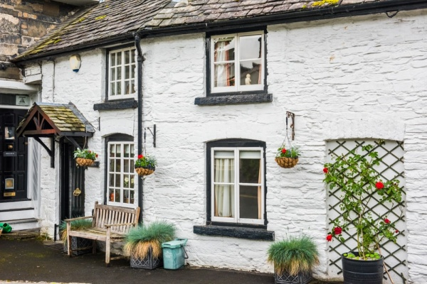 A pretty stone cottage in Rhayader