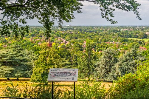 King Henry's Mound viewpoint