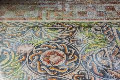 Mosaic floor, south range
