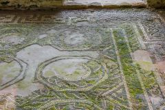 Another of the south range mosaic floors