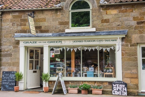 Village tearoom in Rosedale Abbey