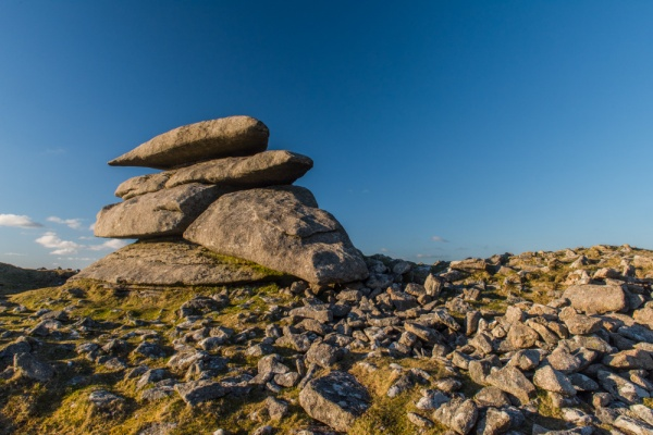 Little Rough Tor rock formations