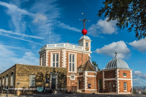 Flamsteed House at the Royal Observatory, Greenwich