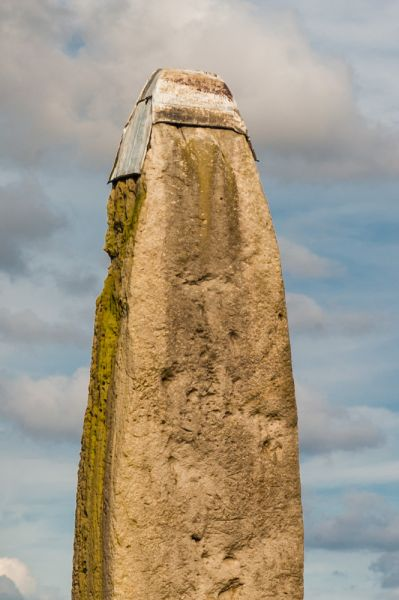 Rudston Monolith photo, The tip of the Monolith