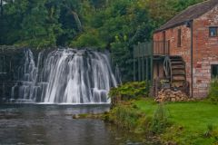 Eden Valley, Rutter Force waterfall and mill
