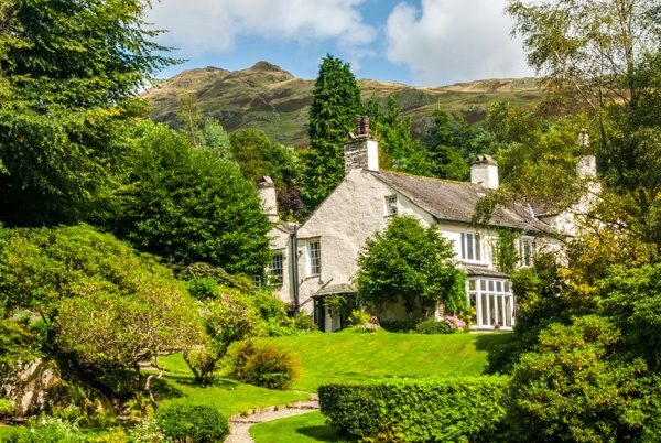 Wordsworth's home at Rydal Mount