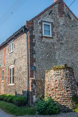 Salthouse, Well Cottage on Grouts Lane