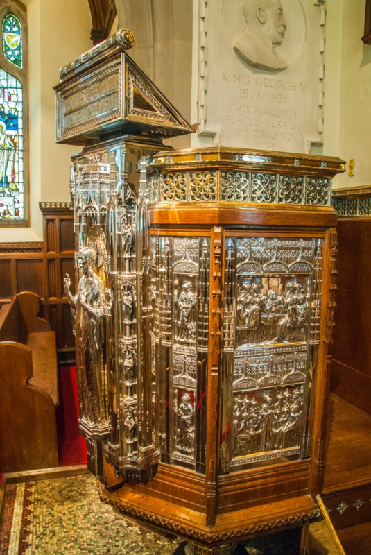 The silver pulpit
