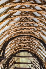 The 14th century nave roof