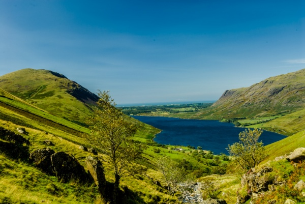 Wastwater from Lingmell Gill