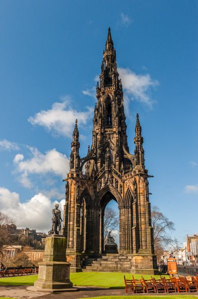 Edinburgh photo, The Scott Monument