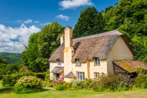Selworthy thatched cottage
