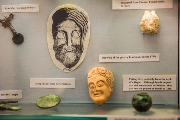 Senhouse Roman Museum photo, Small finds from the Roman fort