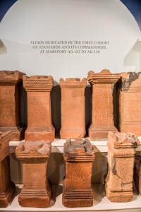 2nd century altars dedicated by the 1st Cohort of Spaniards