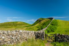 Hadrian's Wall Path at Sewingshields