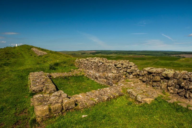 Milecastle 35 at Sewingshields