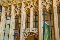 Sherborne Abbey Church, 15th centrury stone screen