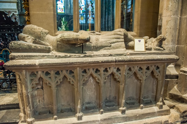 Simon de Leybourne tomb, 1315