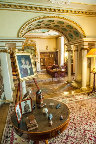 Shugborough photo, Another view of the Library