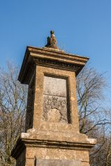 Sir Bevil Grenville Monument, The north side of the monument