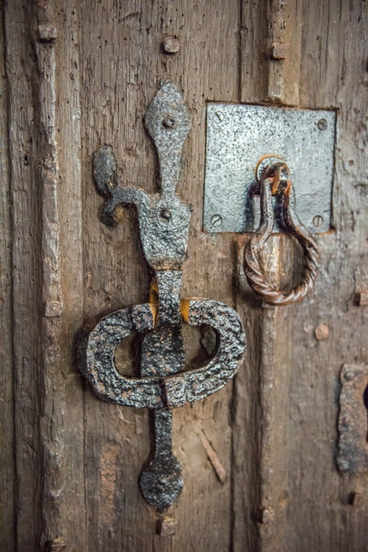 The 13th century door handle