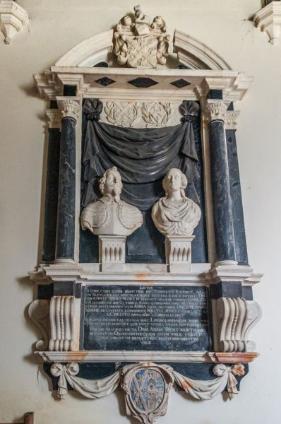 The John and Anna Wentworth memorial, 1651