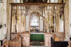 South Creake, St Mary's Church, The medieval rood screen