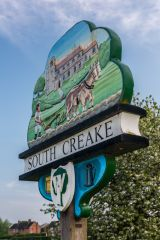 The South Creake village sign