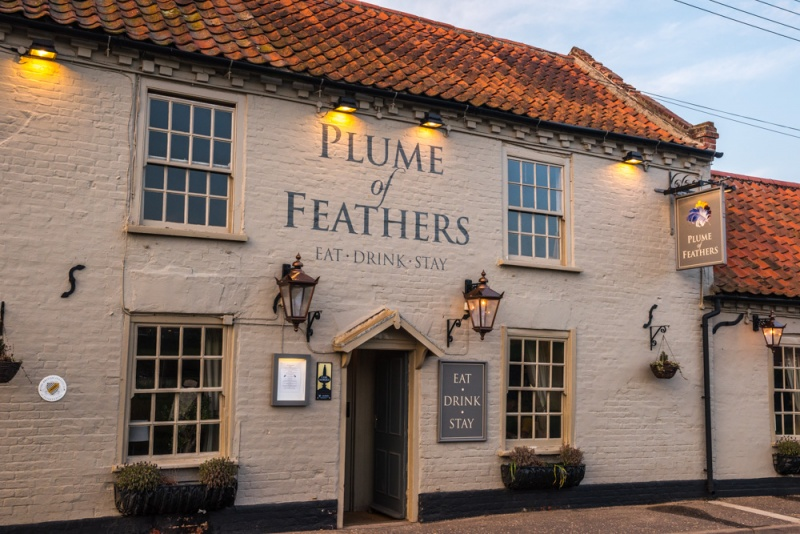 The Plume of Feathers Inn, South Creake