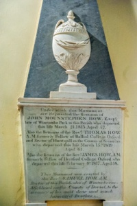 John Mountstephen How memorial