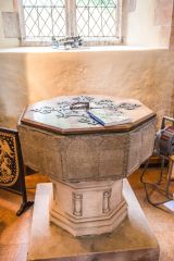 The 12th century octagonal font