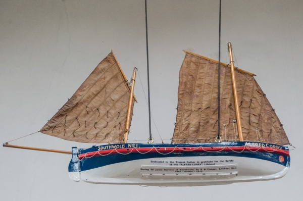 Alfred Corry lifeboat model