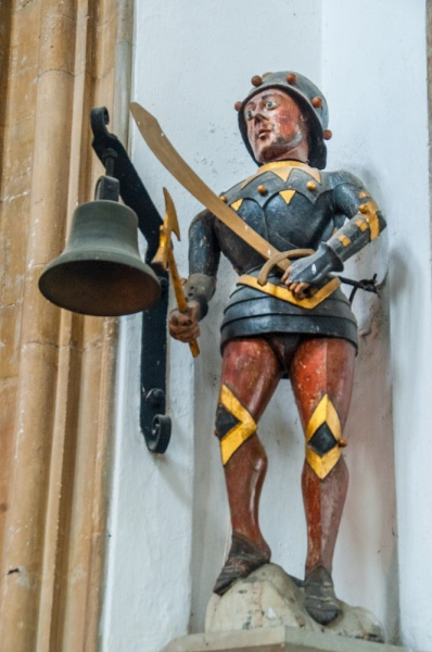 The 15th century mechanical figure of Southwold Jack