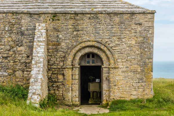 St Aldhelm's Chapel photo, The chapel entrance