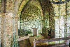 St Aldhelm's Chapel, Looking towards the altar