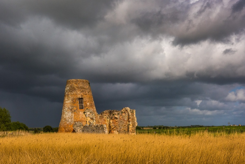 St Benet's Abbey gatehouse and mill