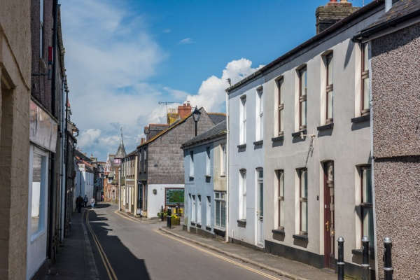 Looking along Fore Street