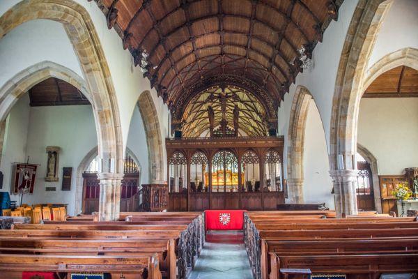 St Columb Major Cornwall St Columba S Church History