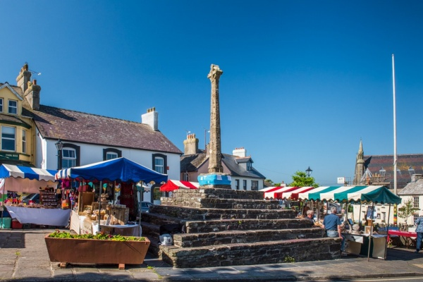 Market day in St Davids