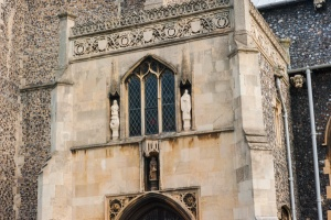 The Tudor porch and parvise