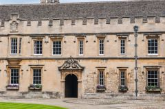 St John's College, Oxford, Front Quad