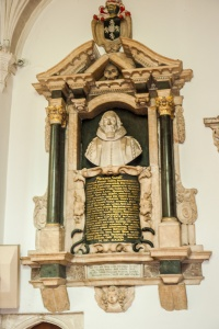 Memorial to William Paddy, 1634